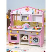 儿童过家家厨房玩具套装男女宝宝仿真煮饭做饭女孩童礼物