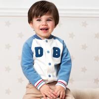 davebella戴维贝拉春装新款男童棒球衫2020宝宝休闲外套DB13352