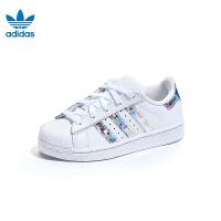 【大牌价:359元】阿迪达斯adidas童鞋19新款儿童跑步鞋男童SUPERSTAR C运动鞋 (5-10岁可选) C