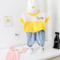 童装男童夏装套装两件套夏季儿童衣服小宝宝洋气夏装潮