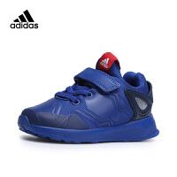 【到手价:257.4元】阿迪达斯(adidas)儿童鞋新款运动鞋小童漫威蜘蛛侠男女童跑步鞋AH2461 蓝色
