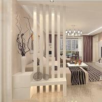 玄关隔断柜 客厅 装饰柜 进门玄关柜鞋柜白色烤漆 门厅装饰屏风柜