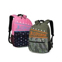 新款初中高中大学生书包校园男女生旅行时尚双肩背包
