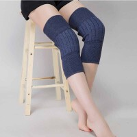 羊绒护膝保暖关节炎中老年人风湿老寒腿男女通用运动膝盖套一对装护膝90-200斤适用