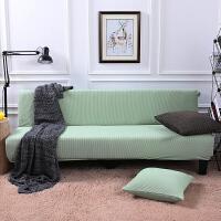 别墅加厚沙发床套罩全包套折叠无扶手双人三人1.8米长罩子全盖套定制