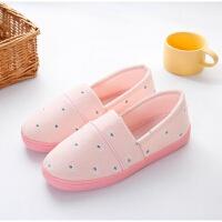 孕妇月子鞋夏薄款包跟少女心软底防滑室内韩式大码孕产妇家居拖鞋