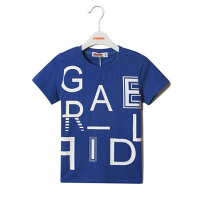 【专区39任选2件】加菲猫男童字母款T恤短袖套头儿童基础款GTW17207