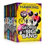 George乔治的宇宙系列6册合售 英文原版小说寻宝记 /宇宙大爆炸/时代之舟/蓝月亮 课外兴趣阅读 史蒂芬霍金 St