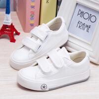 儿童帆布鞋男童春季幼儿园小白鞋女童单鞋春秋宝宝球鞋小学生板鞋