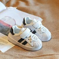 宝宝鞋子1-3岁婴幼儿学步鞋软底防滑小白鞋男女童网面透气鞋春夏2