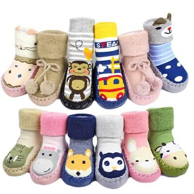 初生婴幼儿宝宝鞋毛线袜软底袜套学步鞋地板鞋家居袜鞋袜夏季