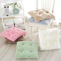 冬季毛绒坐垫女学生加厚教室椅子垫办公室椅垫宿舍座垫汽车椅子垫