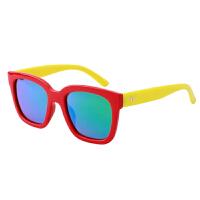 儿童太阳镜男童防紫外线硅胶眼镜女童偏光墨镜个眼睛