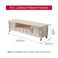 美式乡村实木电视柜茶几组合套装红椿家具客厅电视机柜子简约地柜 2. 组装