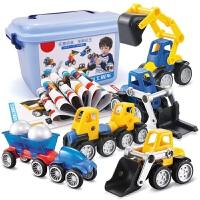 儿童积木玩具磁力片磁铁智力拼装益智宝宝男孩