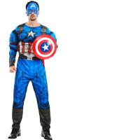 复仇者联盟蜘蛛侠衣服钢铁侠美国队长超人蝙蝠侠男