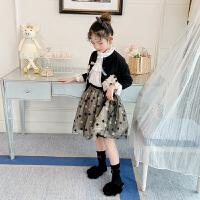 女童套装儿童童装春秋款女孩两件套装裙