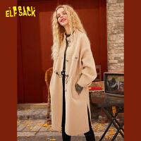 【立减120元 到手价:264】妖精的口袋高端大气风衣2020春季新款女韩版宽松中长款小个子外套