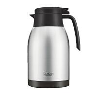 家用保温壶304不锈钢保暖瓶水壶大容量保温瓶热水瓶热水壶2L