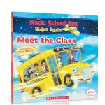 顺丰发货 英文原版 The Magic School Bus Rides Again:Meet the Class 神