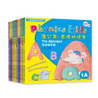蒲公英・英语拼读王(全12册+9CD+6DVD光盘)