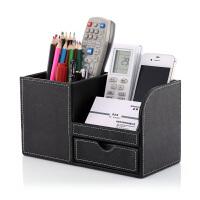 ins多功能笔筒收纳女北欧办公文具收纳盒桌面办公室用品笔筒