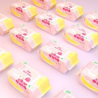【到手价13.9】甜蜜蜜 婴儿手口柔湿巾80抽*5包 加盖锁水 不连抽