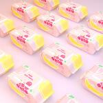 可爱多 镭射抽取式 洁面巾洗脸巾网纹卸妆巾100抽*2包