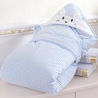 厚报被裹布用品 抱被春夏季包被 可脱胆两用婴儿抱毯秋冬