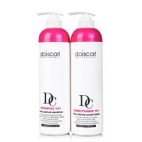 黛丝卡尔滋养洗发水护发素洗护套装760ml 滋润弱酸无硅洗发水