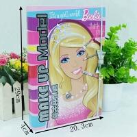芭比化�y盒女童����工具 �和�文具�Y盒�L��套�b 彩�y��本女