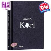 【中商原版】卡尔的世界:卡尔・拉格斐的机智和智慧 英文原版 The World According to Karl 时