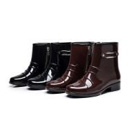 女士雨鞋雨靴短筒雨鞋防滑雨靴男士洗衣厨房清洁工洗车劳保工作水鞋