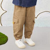 【6折价:179.4元】马拉丁童装男小童裤子春装2020年新款休闲百搭儿童裤子牛仔裤