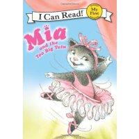 Pink Slippers: Mia and the Too Big Tutu 粉红色的拖鞋:米娅和她的大号芭蕾舞裙