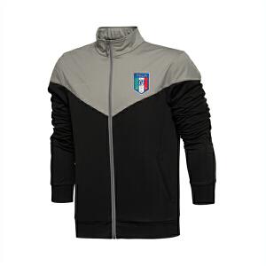 乐途卫衣男士运动生活系列开衫长袖外套立领梭织运动服EWDL009