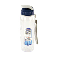 LOCK&LOCK乐扣 700ml透明手提型运动塑料水壶 HPP722
