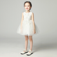 儿童礼服白雪公主裙女童蓬蓬纱婚纱花童钢琴演出服