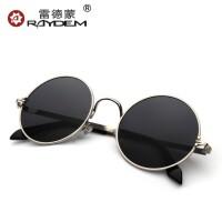 圆框太子镜圆形墨镜男士潮人复古太阳镜女潮防紫外线眼镜