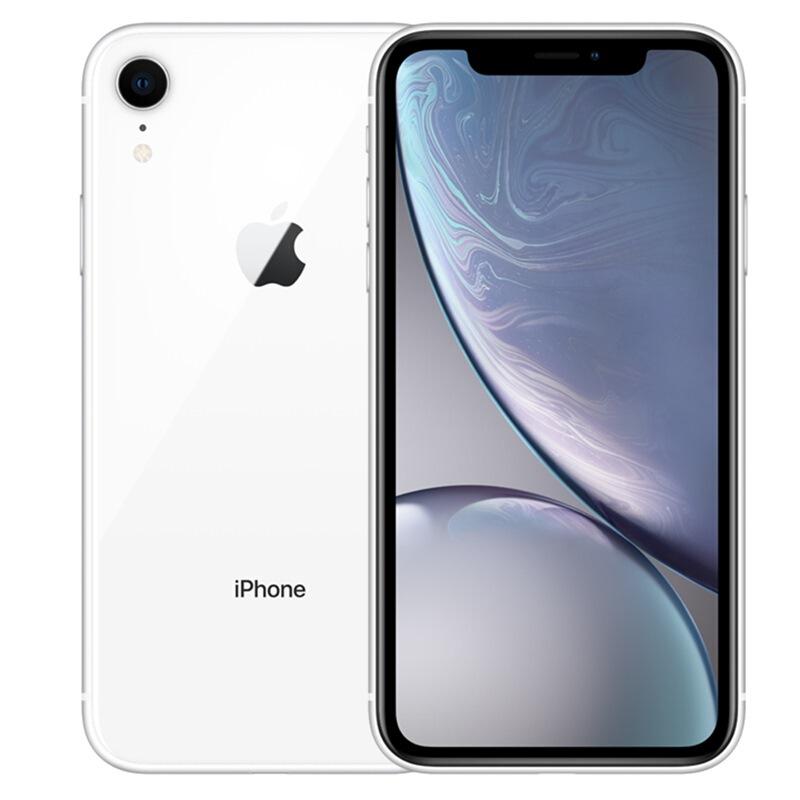 【当当自营】Apple 苹果 iPhone XR 64GB 白色 全网通 手机 A12仿生芯片,全面屏,面容ID,支持双卡。