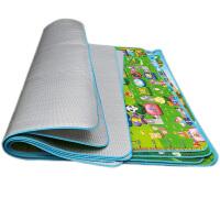 户外防潮垫子婴儿爬行垫宝宝爬爬垫加厚EPE地垫客厅防滑游戏毯2米X1.8米