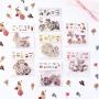日式和纸贴纸包 卡通创意学生手账装饰贴画可爱少女DIY贴纸小粘贴