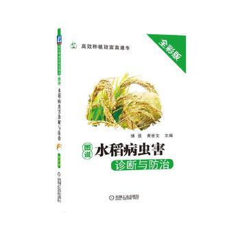 图说水稻病虫害诊断与防治,傅强  黄世文,机械工业出版社,9787111615606 【正版新书,70%城市次日达】