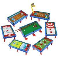 七合一桌球台儿童台球桌家用1-2-3周 岁男宝宝多功能玩具幼儿球类 7合1多功能台球