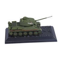 坦克模型 合金车身仿真军事战车模型摆件 T34坦克
