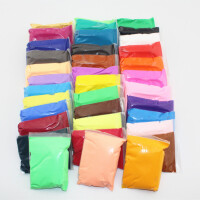 DIY手工 超轻纸粘土 橡皮泥 创意泥 3D彩泥袋装 15克 24色自选