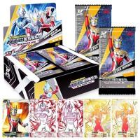 奥特曼卡片卡欧布奥特卡牌收藏册怪兽全套赛罗闪卡CP包金卡满星卡玩具