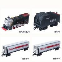 仿真轨道电动火车东风4B蒸汽机车高铁动车模型儿童拼装玩具中国绿皮火车儿时的回忆