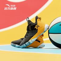安踏儿童篮球鞋2019秋季新款汤姆森KT4中大童运动鞋31931110
