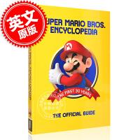 现货 超级马里奥大百科全书:30年历史官方指南 英文原版 Super Mario Encyclopedia:Offic